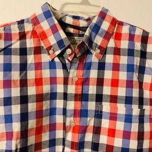 Chor Clothing Co men's Long Sleeve Shirt Plaid L